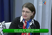 A TV interview with Prof. Doina Balahur