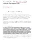 UAIC Sustainability Plan